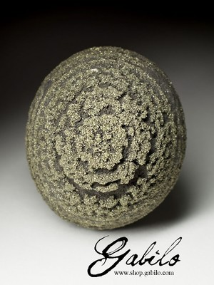 Collection sample Pyrite ball 630.90 carat