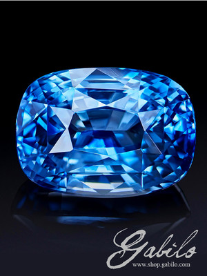 Sapphire Sri Lanka 2.08 ct with gem testing report MSU