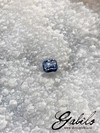Blue sapphire radiant cut 1.36 ct with gem testing report MSU