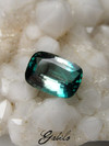 Grandidierite cushion cut 1.19 ct with gem testing report MSU