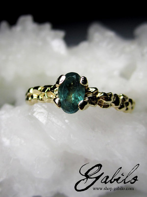Alexandrite Gold Ring with Jewellery Report MSU
