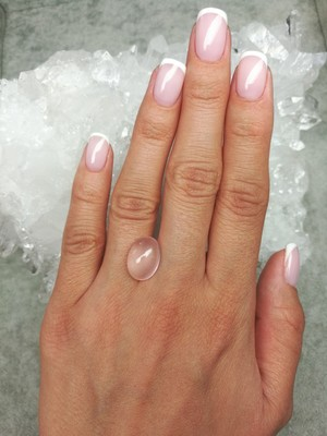 Rose quartz 5.90 ct