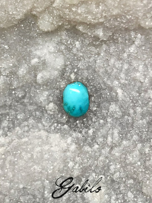 Turquoise 5x7 oval 0.85 ct