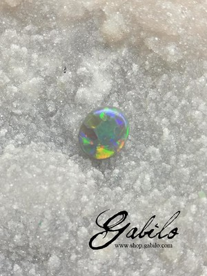 Black opal 1.71 ct with Gem Testing Report