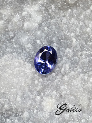 Tanzanite 7 x 9 oval cut 1.85 ct