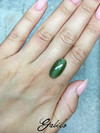 Cat's-eye nephrite cabochon 9.25 ct
