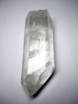 Large crystal of rock crystal