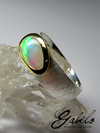 Noble Opal Silver Ring