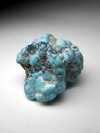 Nugget of turquoise with pyrite