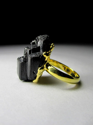 Ring with gilt gilding