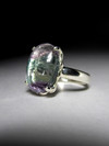 Ring with fluorite