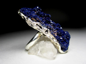 Ring with Azurite