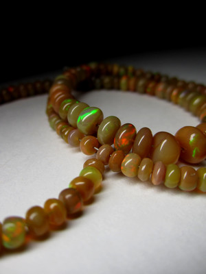 Ethiopian Brown Opal Necklace