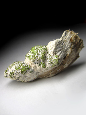 Collection sample of a demantoid
