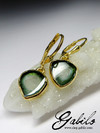 Tourmaline Silver Earrings