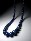 Certified Tanzanite Necklace