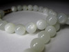 Moonstone feldspar beaded necklace