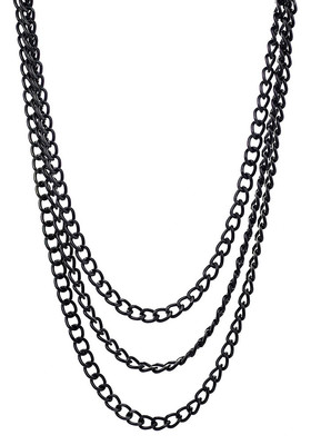 Decoration Cascade of Large Chains Black