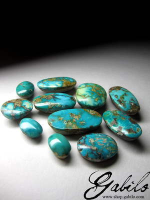 Green Iranian turquoise