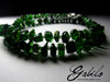 Beads from chrome diopside