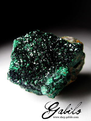 Malachite sample of Congo