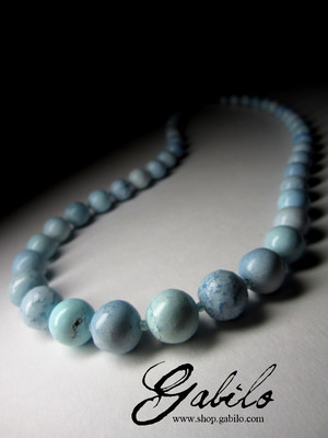 Beads from turquoise sphere 1 grade