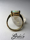 Gold ring with opal