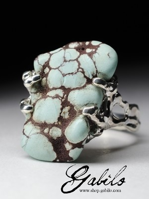 Ring with turquoise Egypt