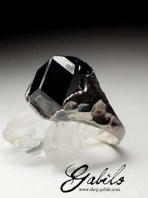 Men's Melanite Ring