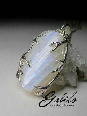 Belomorite Moonstone Necklace