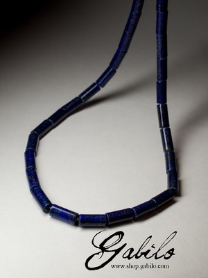 Beads made of lapis lazuli