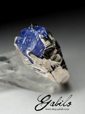 Men's ring with tanzanite