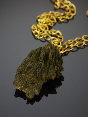 Epidote on the Golden Chain