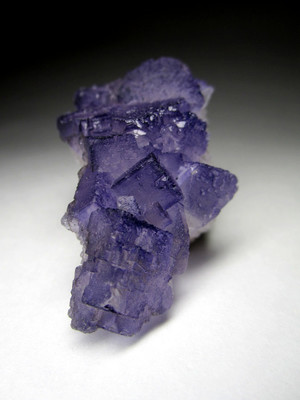 Sample of violet fluorite
