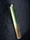 Polychrome tourmaline crystal