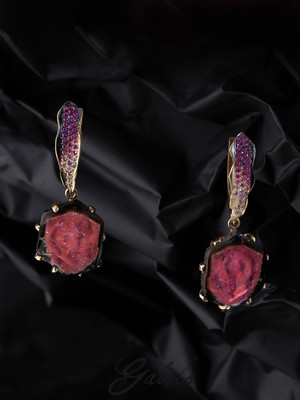 Payment plan for I: Tourmaline and Sapphire Golg Earrings