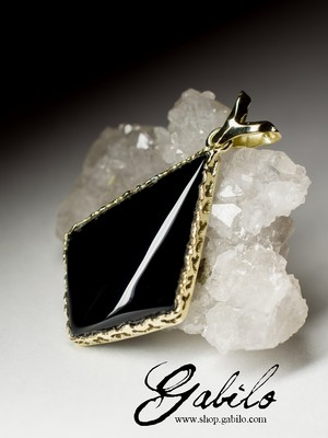 Black Agate Golg Necklace