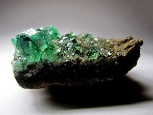 Fluorite collection sample