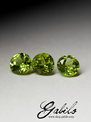 Chrysolite cut 3.10 carat