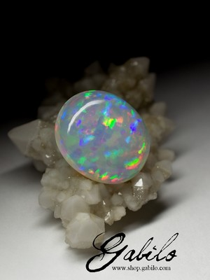 Large Ethiopian opal 18x23 oval 17.55 ct
