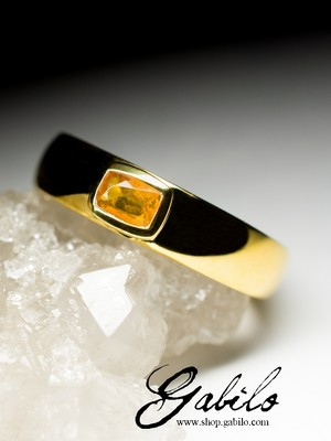 Made to order: Mexican Opal Gold Ring with jewellery report MSU